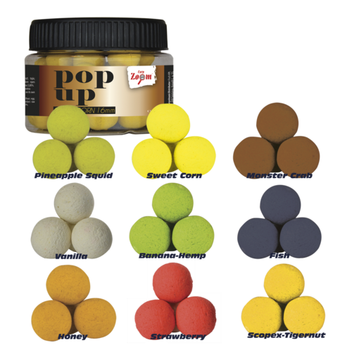 Carp Zoom Pop Ups 16mm, 50g