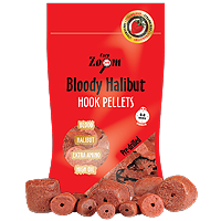 Strawberry Halibut Hook Pellets, 150g