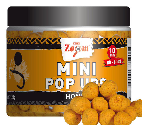 120g Mini Pop Ups, 10 mm, Honey, hellbraun
