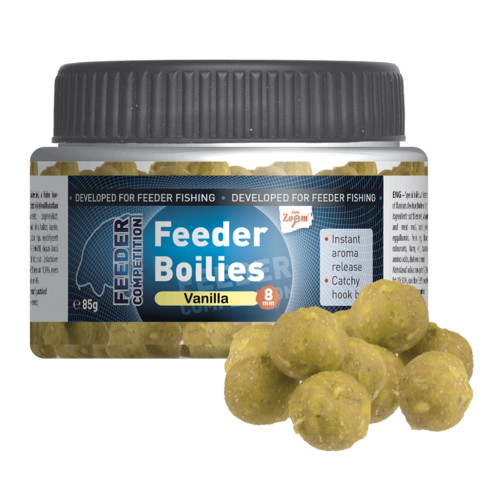 Feeder  Boilies, 8mm, 85g, vanilla