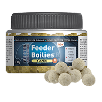 Feeder  Boilies, 8mm, 85g, garlic/Knoblauch