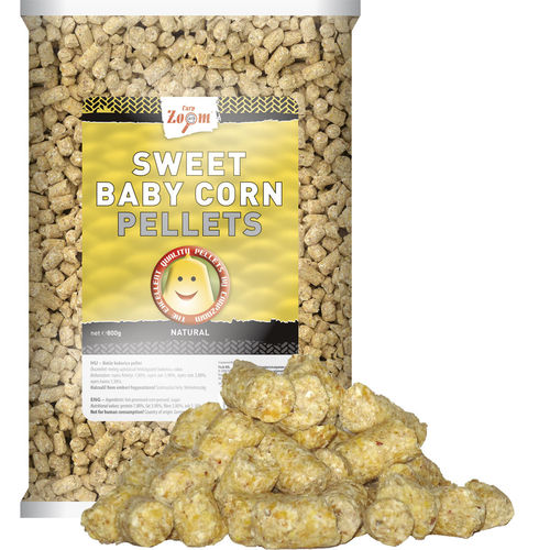 Sweet Baby Corn Pellets natural 800g
