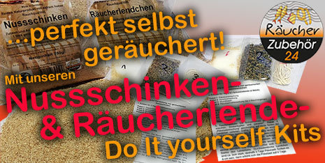Nusschinken & Räucherlendchen selbst räuchern - Do it yourself Pack