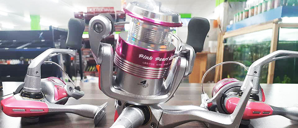 Okuma Pink Pear Ladies Reel