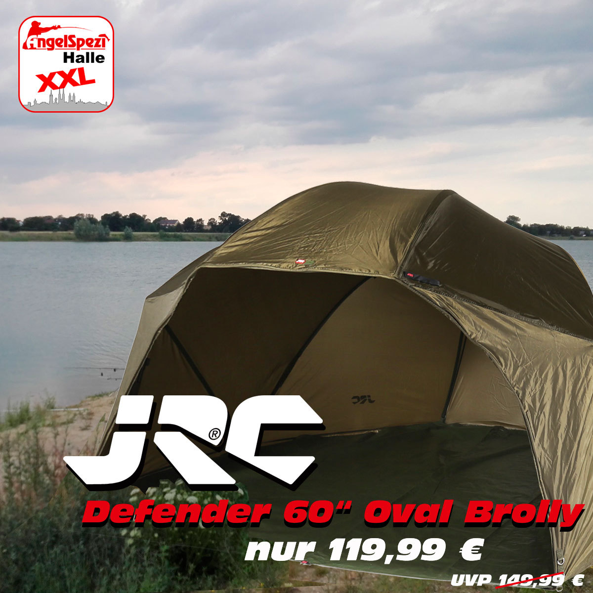 JRC Defender Oval-Brolly
